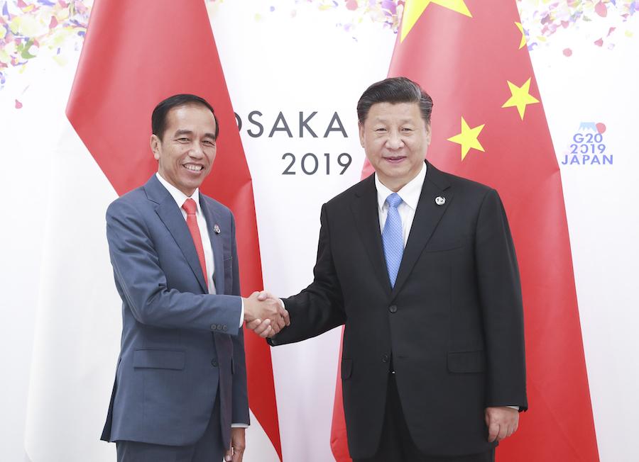 Xi meets Indonesian president on ties