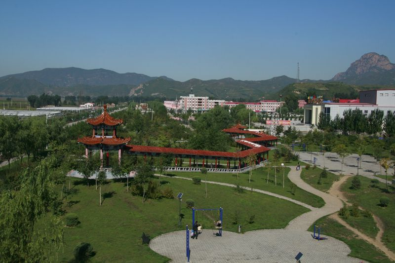 "A Chinese village's ""ironman"""