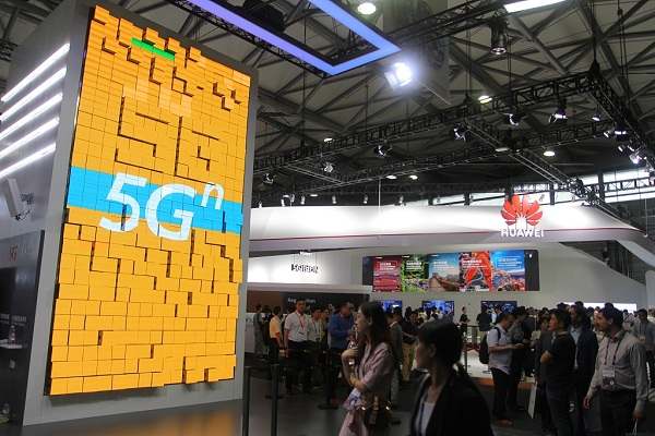 China accelerates 5G network covering and application