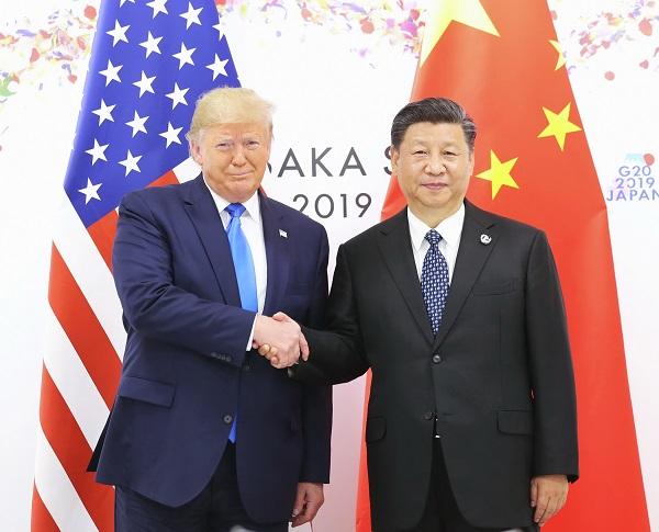 Xi, Trump meet in Japan to guide ties