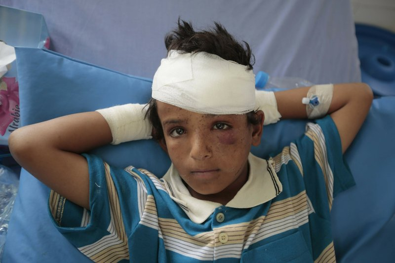 UN report: 7,500 kids killed or wounded in Yemen since 2013