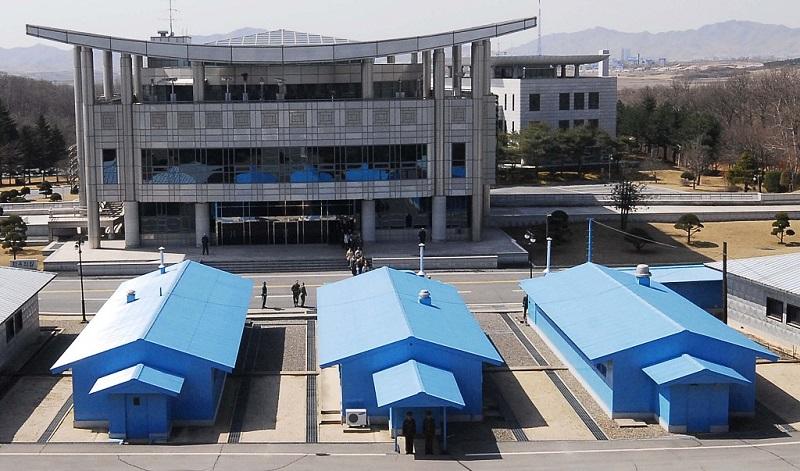 S. Korean president says Trump, Kim Jong-Un to meet, shake hands in Panmunjom