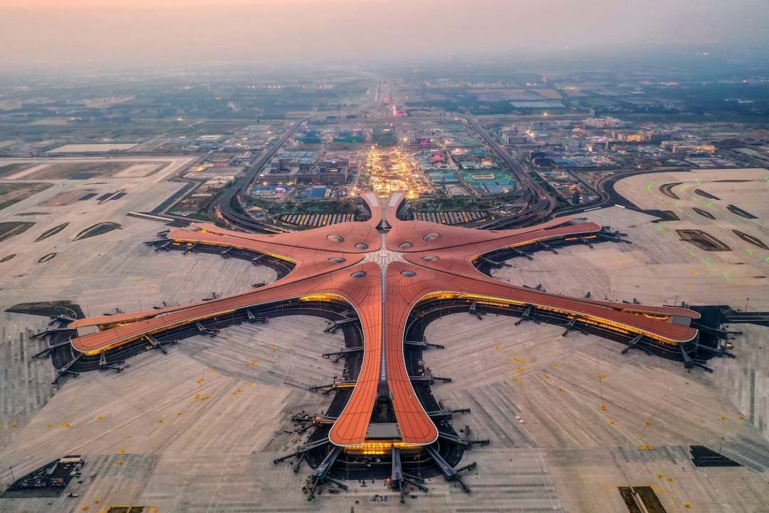 A look at the newly completed Beijing airport
