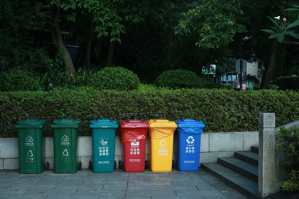 China to promote household garbage sorting nationwide