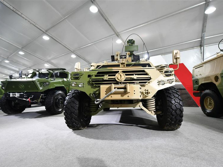 Defence Vehicle and Equipment Exhibition held in Tianjin