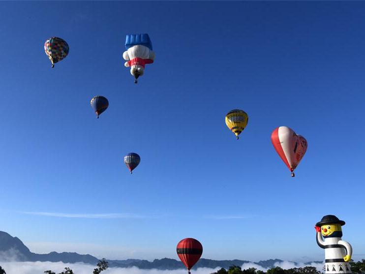 Hot air balloon festival opens in Taitung, China's Taiwan