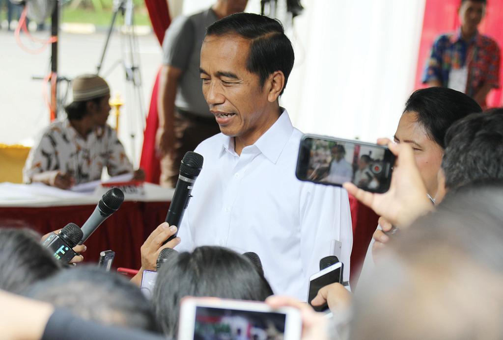 President Widodo officially declared winner of Indonesia's poll