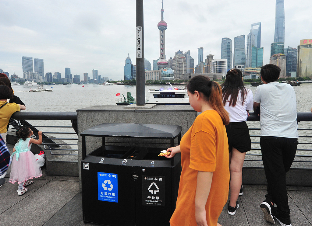 Shanghai sorts out its trash