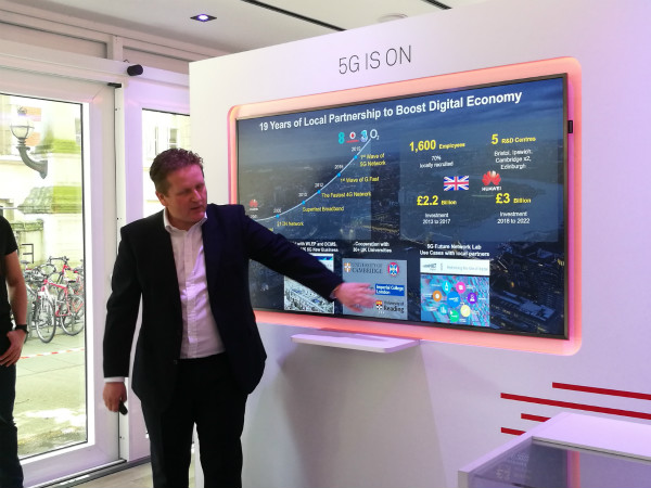 Huawei unveils 5G UK experience tour