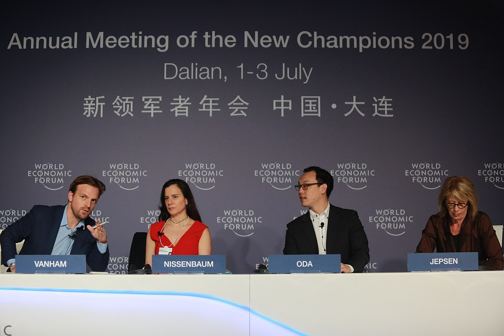 Upbeat notes for China's economy at Summer Davos