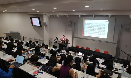 Local Chinese language teachers trained in London