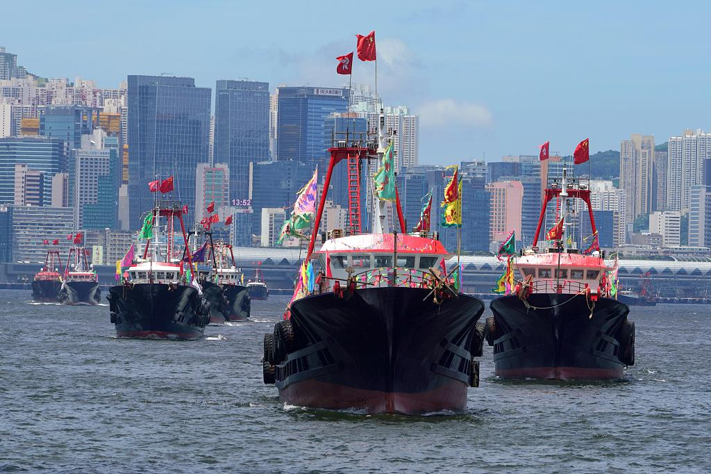 HK celebrates 22nd anniversary of return to motherland with various activities