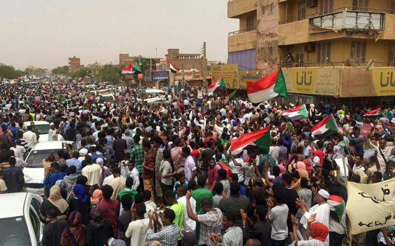 Seven killed as mass demos rock Sudan