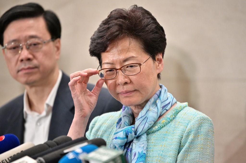 HKSAR chief executive condemns violence at Legislative Council building