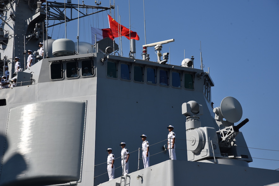 Chinese warship arrives in France for 5-day visit
