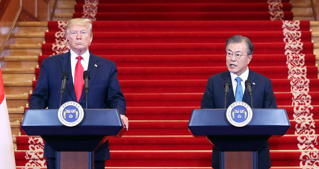 DPRK, US 'actually' end hostility, start peace era via Panmunjom summit: S. Korean president