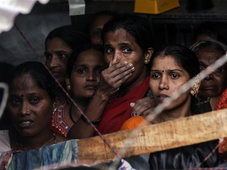 Wall collapse leaves at least 16 killed in India's Mumbai