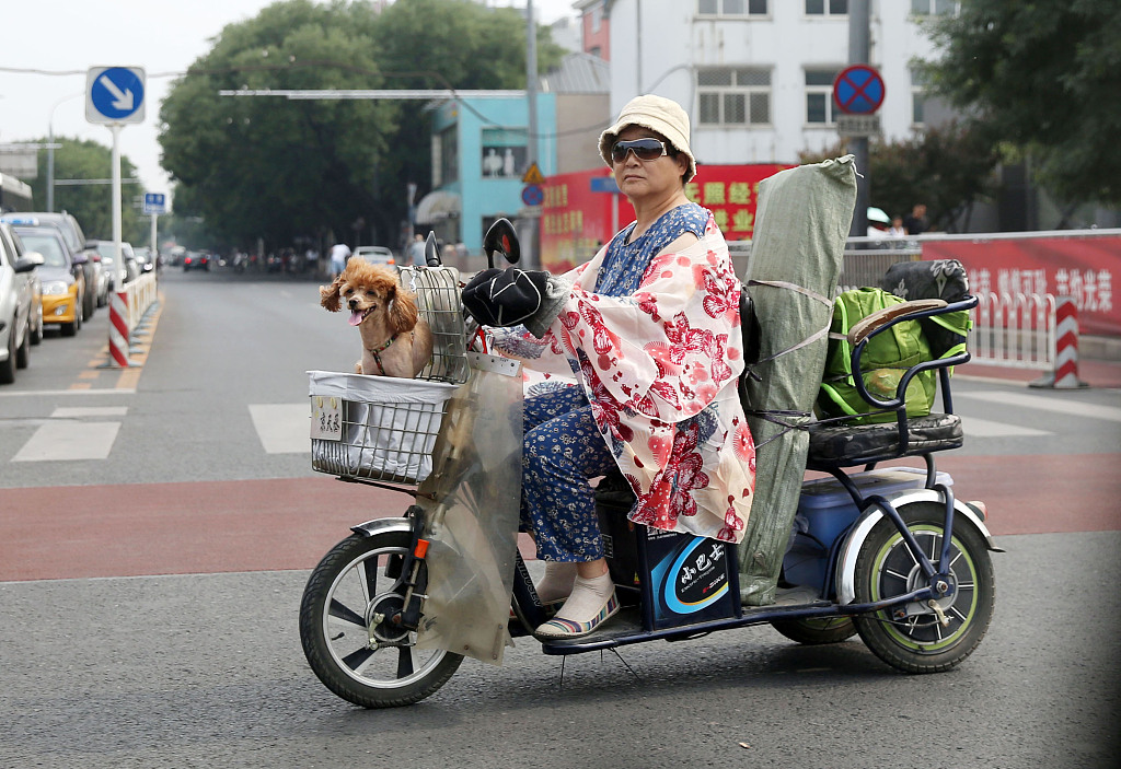 Intense heat waves to hit China