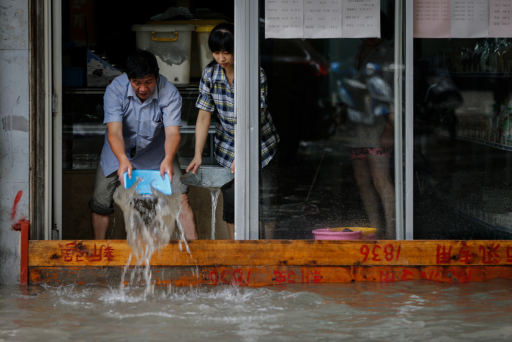 Over 10,000 hectares of cropland in NE China affected by rainstorm