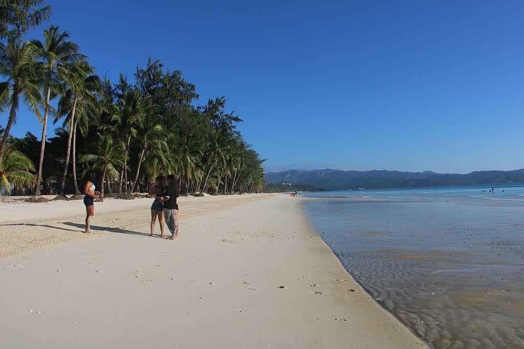 Philippine President Duterte approves nearly 500 mln-U.S. dollar plan to keep Boracay island resort clean, safe