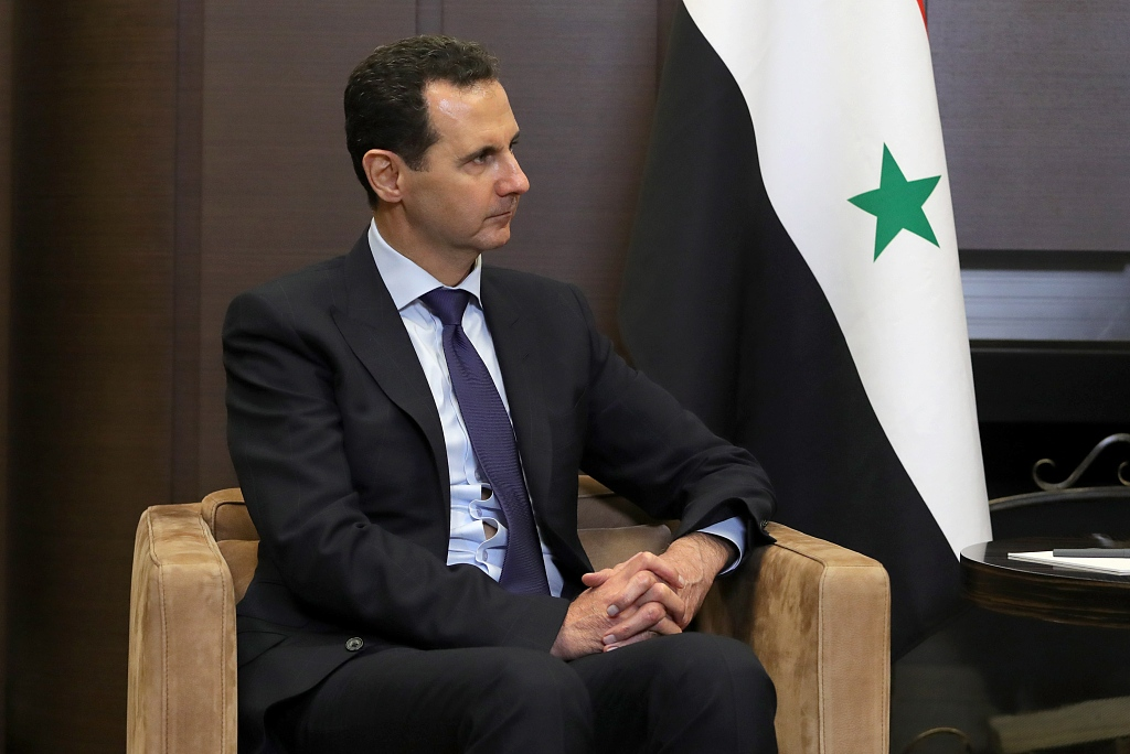 """Syrian president, Iranian official discuss """"escalatory stances"""" with U.S."""