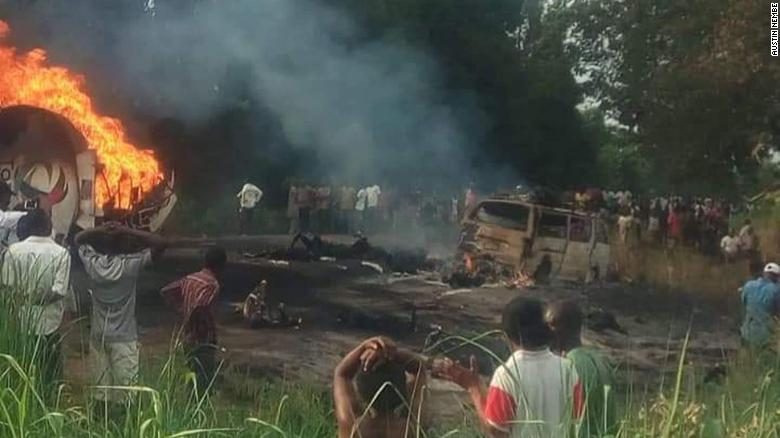 Death toll from Nigeria tanker blast rises to 45: official
