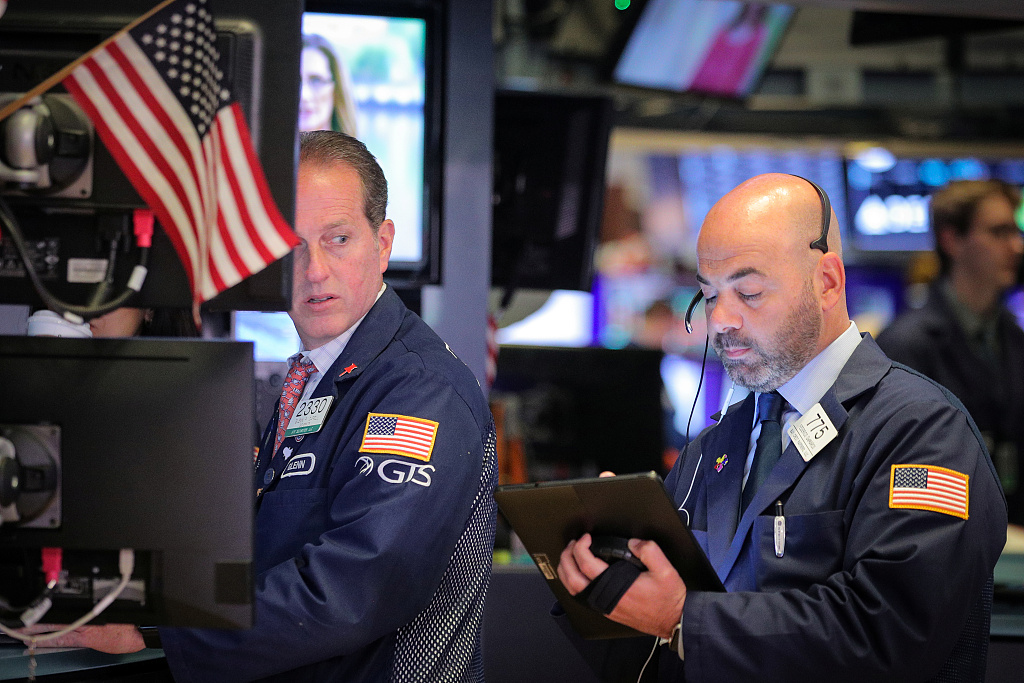 US stocks open lower amid trade concerns