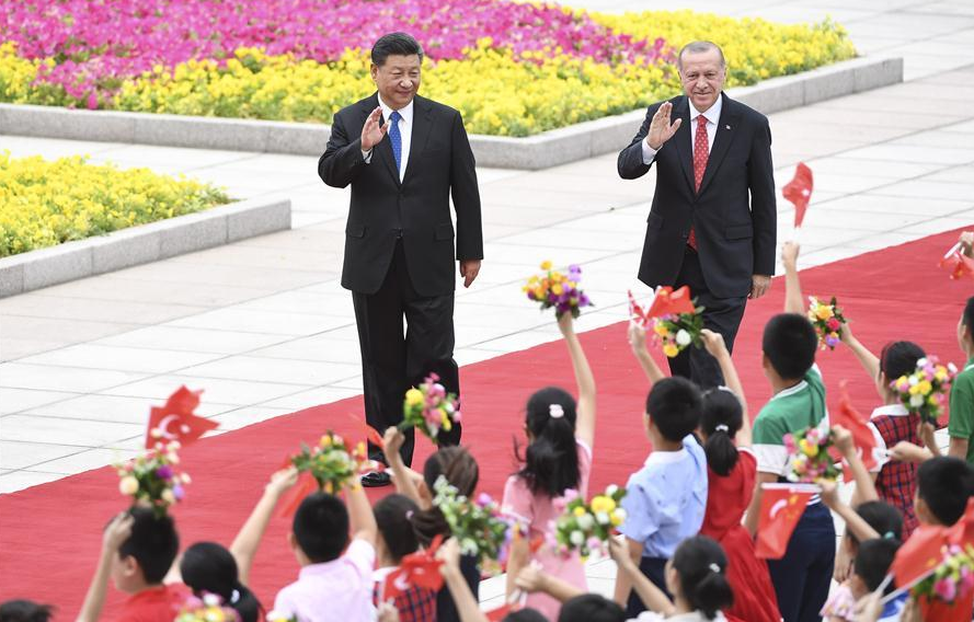 Xi holds talks with Turkish president, vowing to deepen strategic cooperation