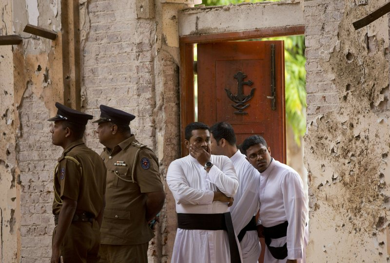 Sri Lanka's ex-police chief, defense secretary arrested over Easter attacks-related charges