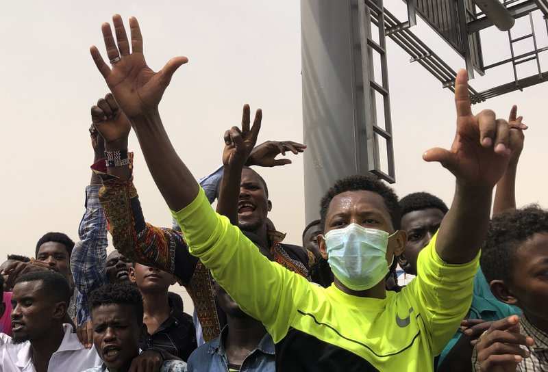 Sudan protest group says 2 leaders arrested