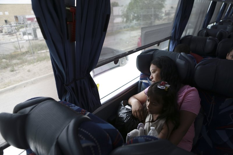 Mexico buses home dozens of asylum seekers returned by US
