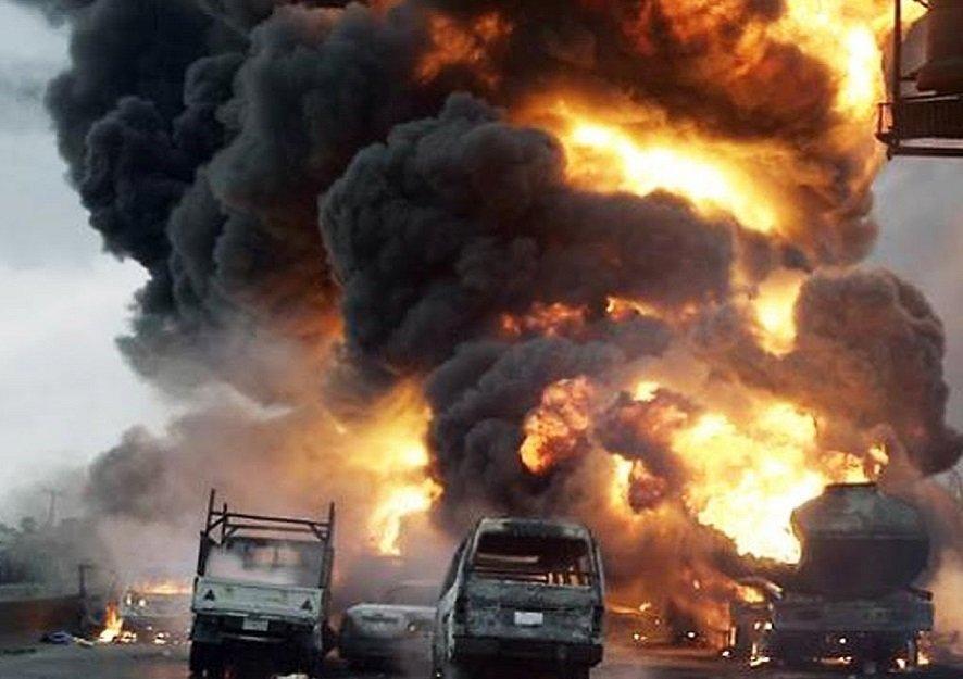 At least 35 die in fuel tanker explosion in Nigeria