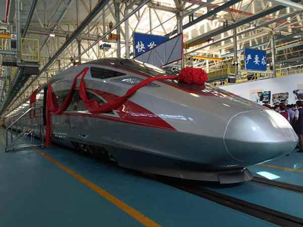 China advances with developing bullet train technology