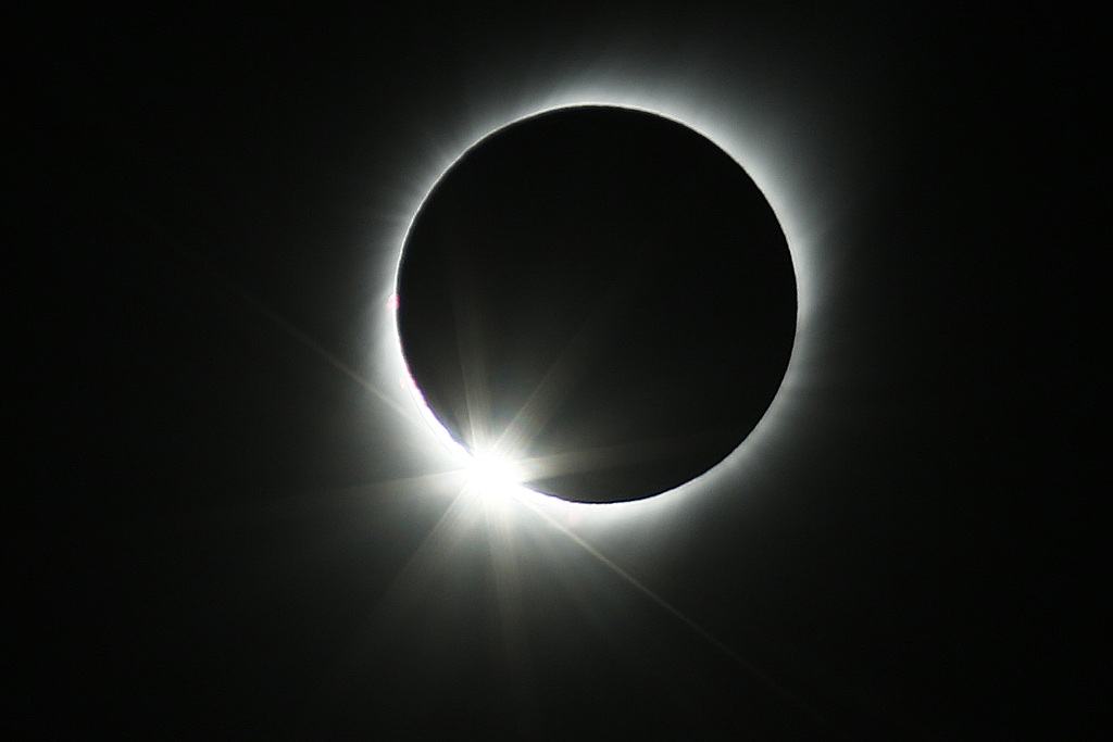 Rare total solar eclipse over South America dazzles thousands