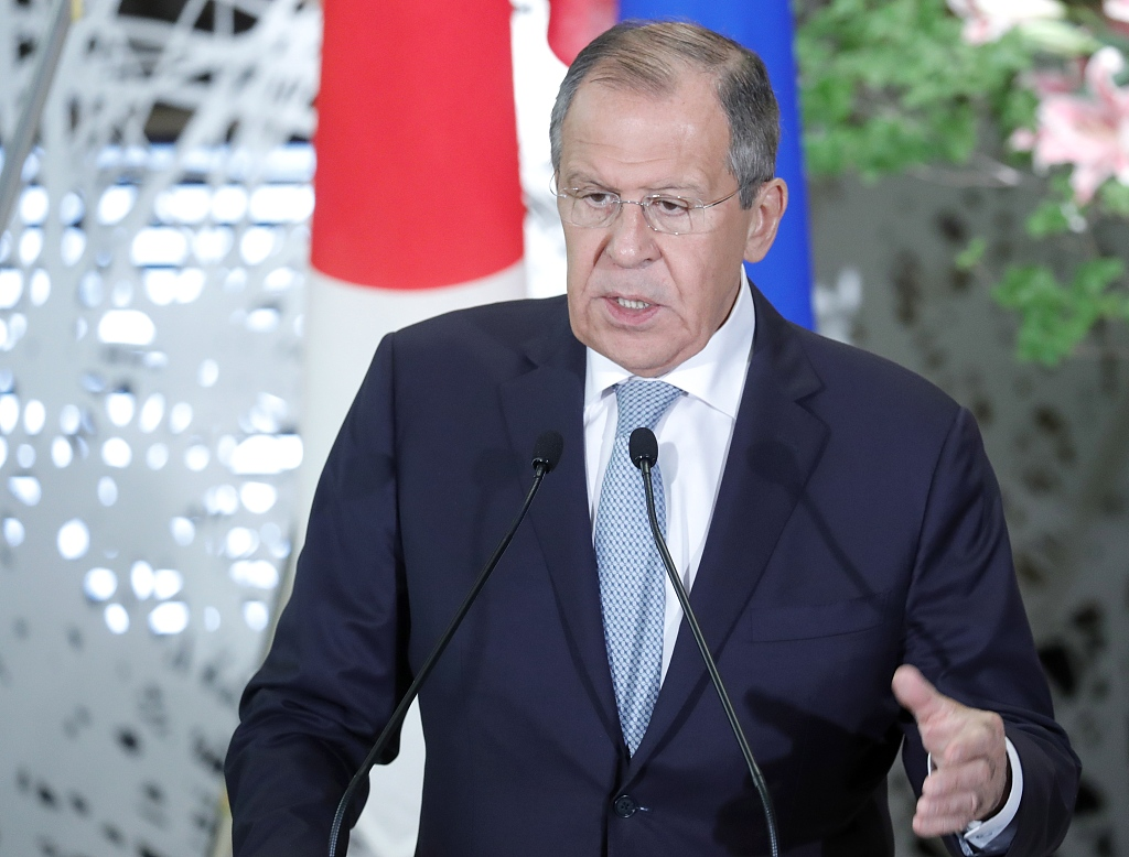 Russian FM urges EU to implement mechanism for trade with Iran to preserve nuclear deal