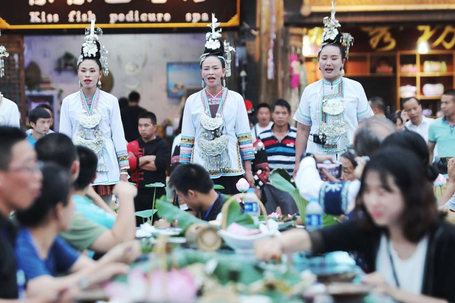 Tourism lifts Guizhou town out of poverty