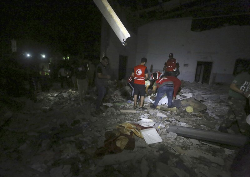 Airstrike hits migrant detention center in Libya, 40 killed
