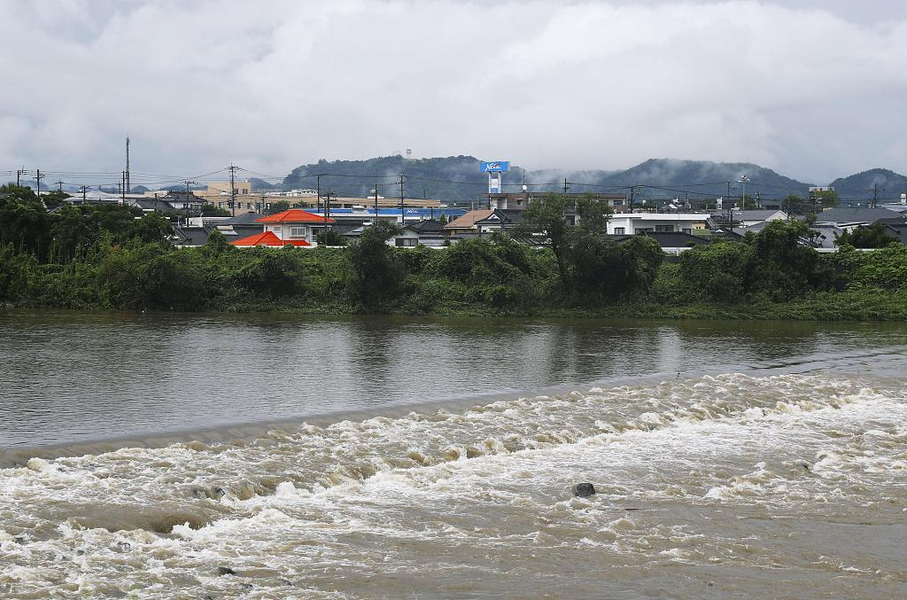 Heavy rain in south Japan, over 1 million directed to leave