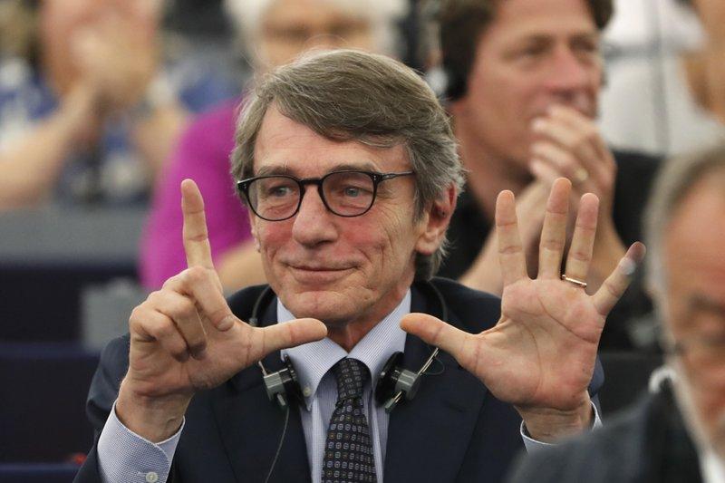 Italian socialist Sassoli to be president of EU Parliament