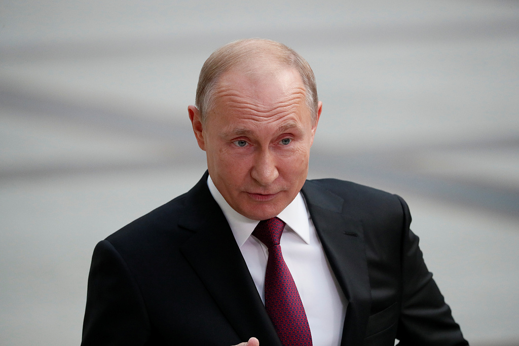 Putin signs law suspending INF treaty: reports