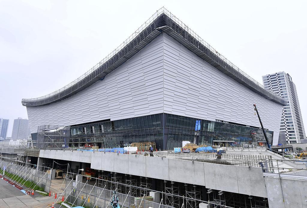 Tokyo 2020 main stadium reaches 90% completion