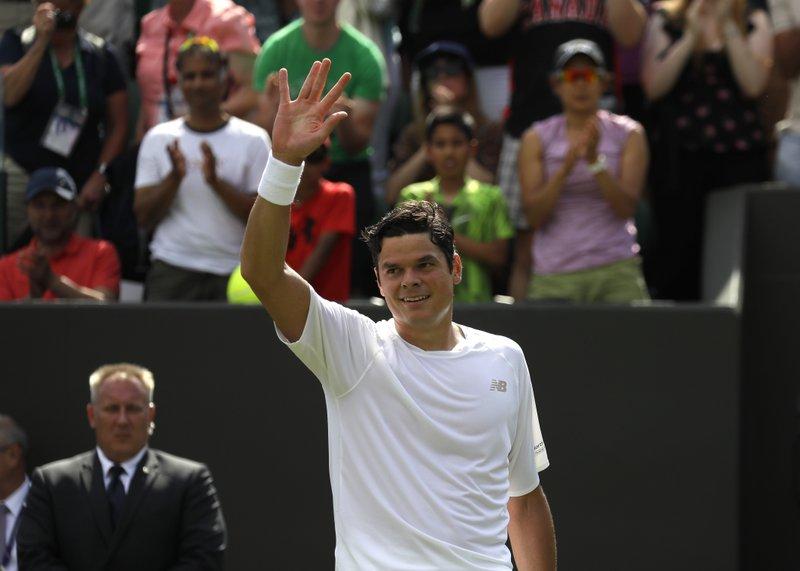 Raonic through to 3rd round at Wimbledon