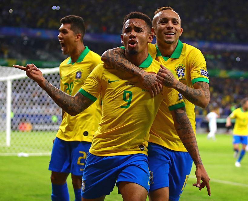 Firmino and Jesus strike as Brazil sink Argentina to reach Copa America final