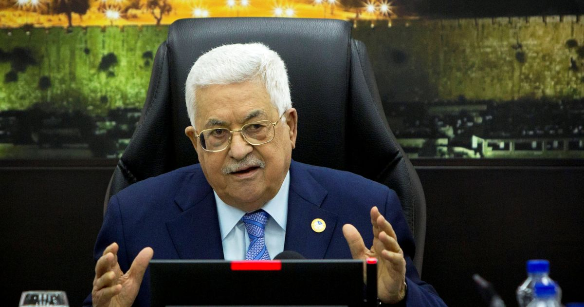 Palestinian President Mahmoud Abbas AP.jpg