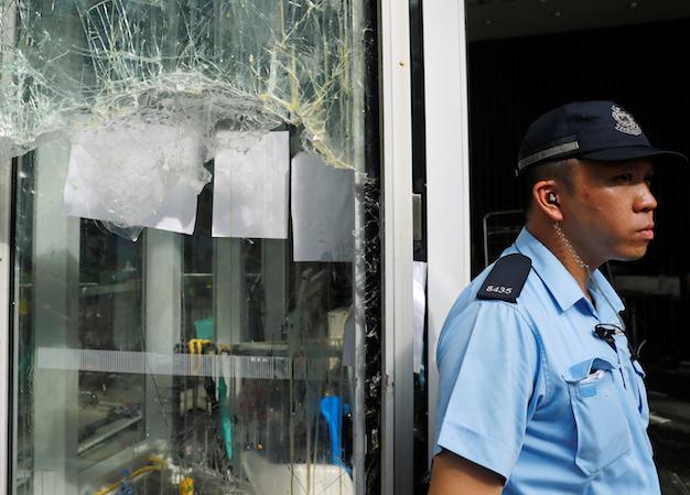 13 arrested after incident at HKSAR LegCo Complex