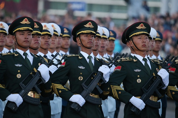 Chinese military takes part in Belarus Independence Day parade
