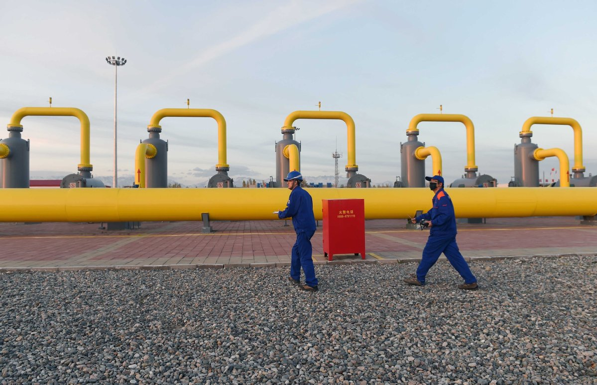 China-Russia gas pipeline construction begins new phase