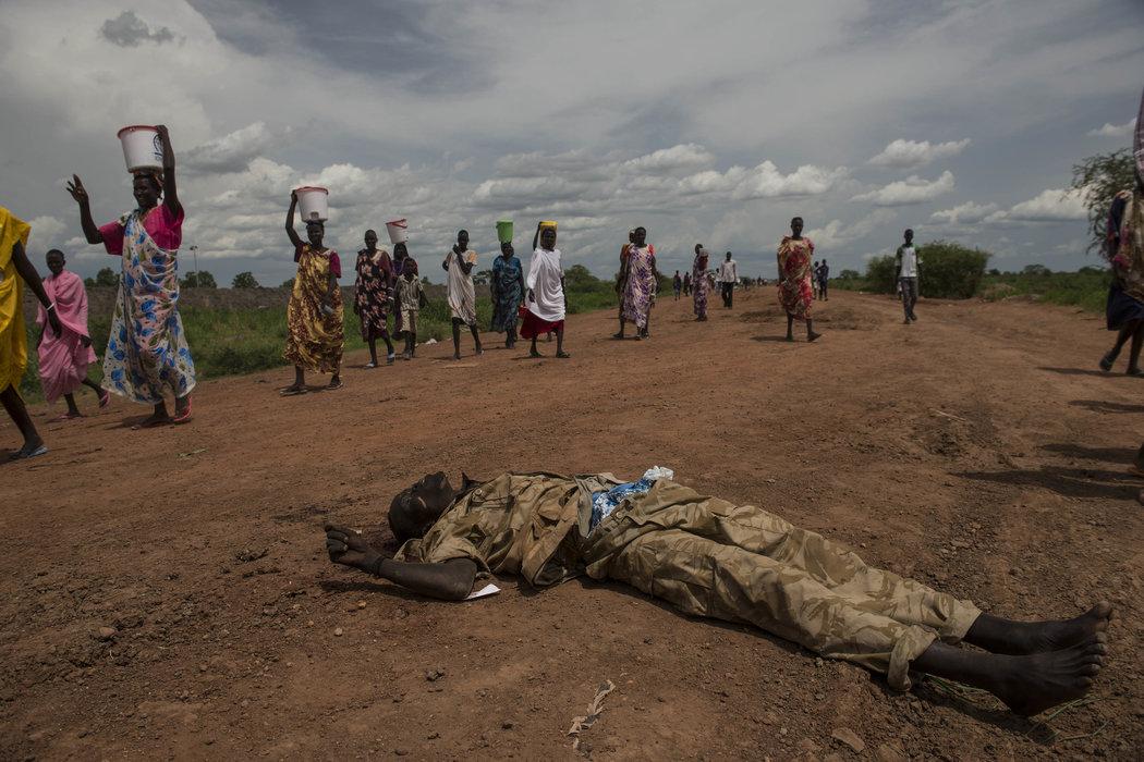 South Sudan army denies killing civilians