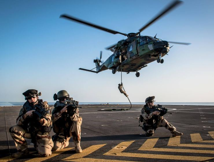 Egypt, France conclude joint air-sea military exercise in Mediterranean