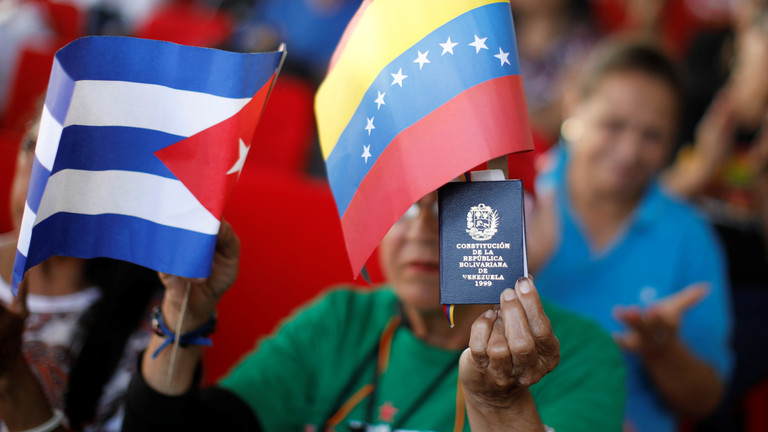 Cuba slams new US sanctions for trade links with Venezuela